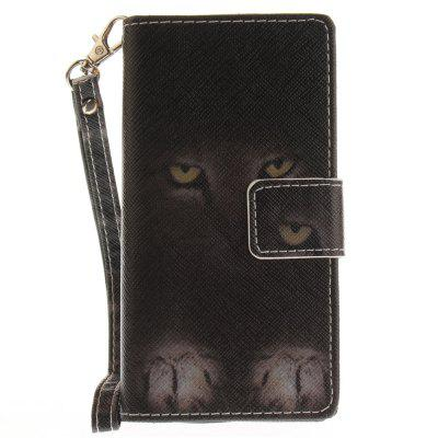 Cover Case for Sony X Compact X Mini Mystery Cat PU+TPU Leather with Stand and Card Slots Magnetic Closure cover case for huawei p10 lite half a face of a cat pu tpu leather with stand and card slots magnetic closure