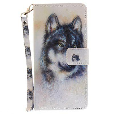 Cover Case for Sony XA Ultera C6 Wolf PU+TPU Leather with Stand and Card Slots Magnetic Closure lone wolf and cub omni vol 6