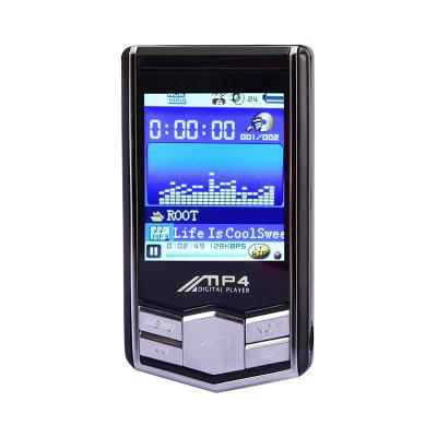 MP4 Music Player 1.8 Inch LCD Screen MP3 / MP4 Player Student Recording Pen 8GB