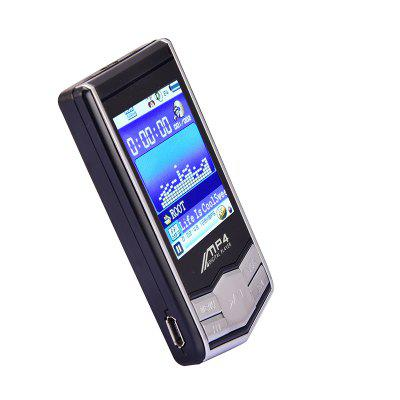 MP4 Music Player 1.8 Inch LCD Screen MP3 / MP4 Player Student Recording Pen 8GB rshop new 8gb blue ultra slim mp4 mp3 player music 1 7 lcd screen mp4 music audio media player with earphone and usb cable support video movie ebook games photo view
