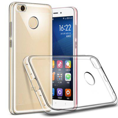 Transparent Ultra Thin TPU Soft Phone Case for Xiaomi Redmi 4XCases &amp; Leather<br>Transparent Ultra Thin TPU Soft Phone Case for Xiaomi Redmi 4X<br><br>Color: Transparent<br>Compatible Model: Xiaomi Redmi 4X<br>Features: Anti-knock<br>Mainly Compatible with: Xiaomi<br>Material: TPU<br>Package Contents: 1 x Phone Case<br>Package size (L x W x H): 21.00 x 12.00 x 1.01 cm / 8.27 x 4.72 x 0.4 inches<br>Package weight: 0.0125 kg<br>Product Size(L x W x H): 14.00 x 7.30 x 1.00 cm / 5.51 x 2.87 x 0.39 inches<br>Product weight: 0.0120 kg<br>Style: Transparent