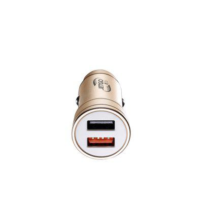SRQ-001 Metal Housing 5V/3A 2 Usb Ports Car ChargeCar Charger<br>SRQ-001 Metal Housing 5V/3A 2 Usb Ports Car Charge<br><br>Apply to: Laptop Computers,Phones<br>Color: Black,Blue,Gold<br>Input ( Car Charger ): DC 12-24V<br>Material ( Cable&amp;Adapter): Aluminum Alloy, Zinc Alloy<br>Output ( Car Charger ): DC 5V/3A Max<br>Package Contents: 1 x USB Car Charger<br>Package size (L x W x H): 4.00 x 4.00 x 8.00 cm / 1.57 x 1.57 x 3.15 inches<br>Package weight: 0.0800 kg<br>Product size (L x W x H): 2.60 x 2.60 x 5.80 cm / 1.02 x 1.02 x 2.28 inches<br>Product weight: 0.0500 kg<br>Working Temp.(?): -20?~50 ?