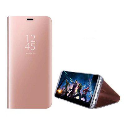 Case Cover for Huawei Mate 10 Lite With Stand Plating Mirror Flip Auto Sleep Wake Up Full Body Solid Color Hard