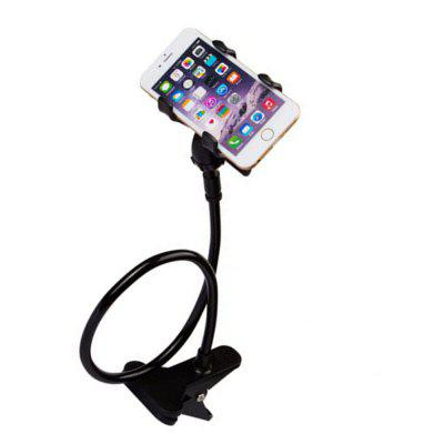 Universal Long Arm Lazy Mobile Phone Gooseneck Stand Holder Flexible Bed Desk Table Clip Bracket for Phone universal mobile phone cell phone holder stand black