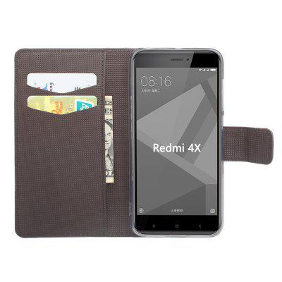 Case for Xiaomi Redmi 4X Handset Color Painting Garden for Xiaomi Redmi 4X Painted Leather and Thin Shell BracketsCases &amp; Leather<br>Case for Xiaomi Redmi 4X Handset Color Painting Garden for Xiaomi Redmi 4X Painted Leather and Thin Shell Brackets<br><br>Color: Black,Blue,Purple,Gray,Rose Madder<br>Features: Full Body Cases, Cases with Stand, Anti-knock, Dirt-resistant<br>Material: TPU<br>Package Contents: 1 x Phone Case<br>Package size (L x W x H): 15.00 x 7.00 x 2.00 cm / 5.91 x 2.76 x 0.79 inches<br>Package weight: 0.0750 kg<br>Style: Pattern, Mixed Color, Funny, Cool, Novelty, Cartoon