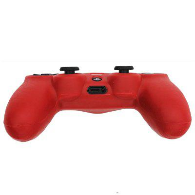 PS4 Controller Skin Silicone Rubber Protective Grip Case for Sony Playstation 4 Wireless Dualshock Game Controllers ps4 pro kontrolfreek grips fps analog extenders vortex for playstation 4 ps4 ps3 controller orange