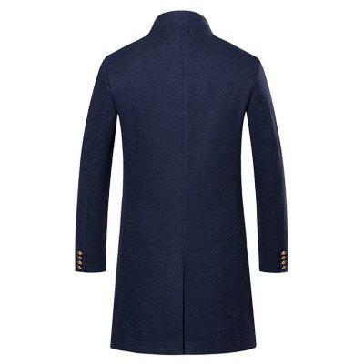 Mens Trench Chic Windproof Outdoor CoatMens Jackets &amp; Coats<br>Mens Trench Chic Windproof Outdoor Coat<br><br>Closure Type: Single Breasted<br>Clothes Type: Trench<br>Collar: Stand Collar<br>Color Style: Solid<br>Colors: Black,Khaki,Cadetblue<br>Detachable Part: None<br>Fabric Type: Cotton<br>Hooded: No<br>Lining Material: Polyester<br>Materials: Cotton<br>Package Content: 1 ? Coat<br>Package size (L x W x H): 1.00 x 1.00 x 1.00 cm / 0.39 x 0.39 x 0.39 inches<br>Package weight: 0.5500 kg<br>Pattern Type: Solid<br>Shirt Length: Long<br>Size1: M,L,XL,2XL,3XL<br>Sleeve Style: Regular<br>Style: Casual<br>Technics: Other<br>Thickness: Medium thickness<br>Type: Slim