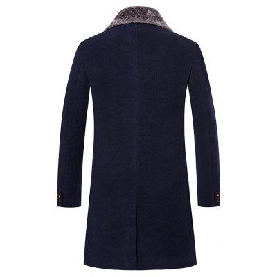 Mens Trench Coat Turn Down Collar Slim Casual Style Fashion CoatMens Jackets &amp; Coats<br>Mens Trench Coat Turn Down Collar Slim Casual Style Fashion Coat<br><br>Closure Type: Single Breasted<br>Clothes Type: Trench<br>Collar: Turn-down Collar<br>Color Style: Solid<br>Colors: Black,Gray,Cadetblue<br>Detachable Part: None<br>Fabric Type: Polyester<br>Hooded: No<br>Lining Material: Polyester<br>Materials: Cotton<br>Package Content: 1 ? Coat<br>Package size (L x W x H): 1.00 x 1.00 x 1.00 cm / 0.39 x 0.39 x 0.39 inches<br>Package weight: 0.5500 kg<br>Pattern Type: Solid<br>Shirt Length: Long<br>Size1: M,L,XL,2XL,3XL<br>Sleeve Style: Regular<br>Style: Fashion<br>Technics: Other<br>Thickness: Medium thickness<br>Type: Slim