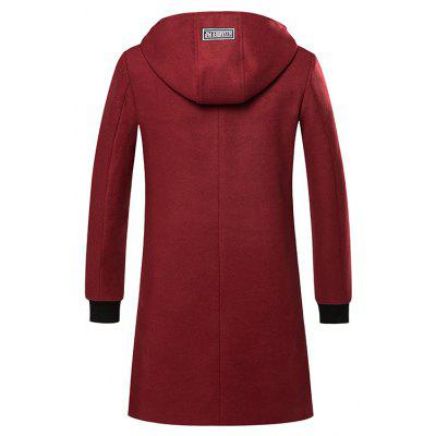 Medium Long Fashion Coat OvercoatMens Jackets &amp; Coats<br>Medium Long Fashion Coat Overcoat<br><br>Closure Type: Zipper<br>Clothes Type: Trench<br>Collar: Hooded<br>Colors: Black,Gray,Wine red<br>Detachable Part: None<br>Fabric Type: Polyester<br>Hooded: Yes<br>Lining Material: Polyester<br>Materials: Cotton<br>Package Content: 1 ? Coat<br>Package size (L x W x H): 1.00 x 1.00 x 1.00 cm / 0.39 x 0.39 x 0.39 inches<br>Package weight: 0.5200 kg<br>Pattern Type: Solid<br>Shirt Length: Regular<br>Size1: M,L,XL,2XL,3XL<br>Sleeve Style: Regular<br>Style: Fashion<br>Technics: Other<br>Thickness: Medium thickness<br>Type: Slim