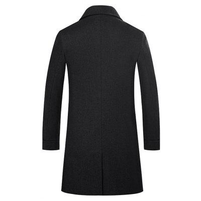 Medium Long Body Style ClothesMens Jackets &amp; Coats<br>Medium Long Body Style Clothes<br><br>Closure Type: Single Breasted<br>Clothes Type: Trench<br>Collar: Turn-down Collar<br>Color Style: Solid<br>Colors: Black,Green,Gray,Wine red,Cadetblue<br>Detachable Part: None<br>Fabric Type: Polyester<br>Hooded: No<br>Lining Material: Polyester<br>Materials: Cotton<br>Package Content: 1 ? Coat<br>Package size (L x W x H): 1.00 x 1.00 x 1.00 cm / 0.39 x 0.39 x 0.39 inches<br>Package weight: 0.4800 kg<br>Pattern Type: Solid<br>Shirt Length: Long<br>Size1: M,L,XL,2XL,3XL<br>Sleeve Style: Regular<br>Style: Fashion<br>Technics: Other<br>Thickness: Medium thickness