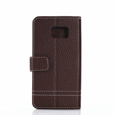 Cover Case for Samsung Galaxy S7 Edge Lychee Striped Back Button LeatherSamsung S Series<br>Cover Case for Samsung Galaxy S7 Edge Lychee Striped Back Button Leather<br><br>Compatible for Samsung: Samsung Galaxy S7 Edge<br>Features: Full Body Cases, Cases with Stand, With Credit Card Holder, Anti-knock, Dirt-resistant<br>Material: TPU, PU Leather<br>Package Contents: 1 x Phone Case<br>Package size (L x W x H): 20.00 x 10.00 x 2.00 cm / 7.87 x 3.94 x 0.79 inches<br>Package weight: 0.0520 kg<br>Product weight: 0.0460 kg<br>Style: Vintage, Leather, Solid Color