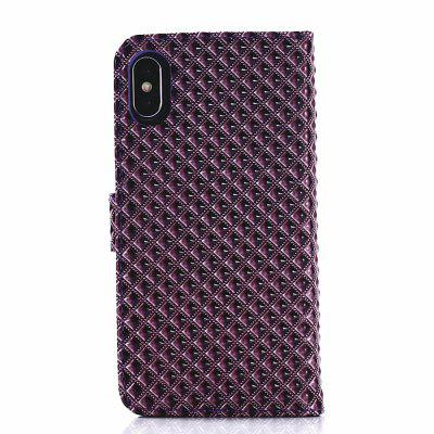 все цены на Cover Case for iPhone X Fine Rhombic Leather онлайн