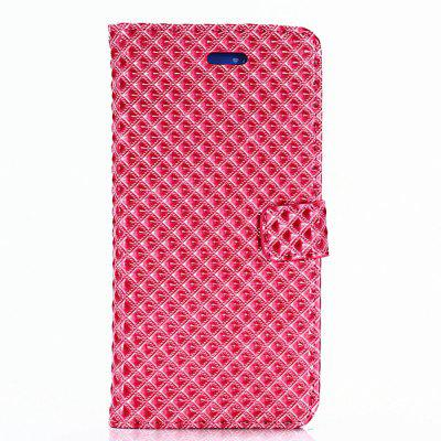 Cover Case for Samsung Galaxy Note 8 Fine Rhombic Leather