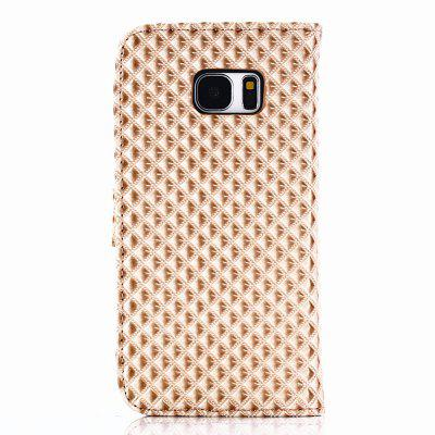 Cover Case for Samsung Galaxy S7 Edge Fine Rhombic LeatherCover Case for Samsung Galaxy S7 Edge Fine Rhombic Leather<br><br>Compatible for Samsung: Samsung Galaxy S7 Edge<br>Features: Full Body Cases, Cases with Stand, With Credit Card Holder, Anti-knock, Dirt-resistant<br>Material: TPU, PU Leather<br>Package Contents: 1 x Phone Case<br>Package size (L x W x H): 20.00 x 10.00 x 2.00 cm / 7.87 x 3.94 x 0.79 inches<br>Package weight: 0.0520 kg<br>Product weight: 0.0470 kg<br>Style: Novelty, Cool, Special Design