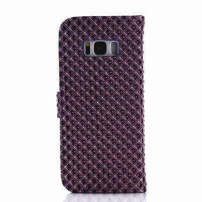 Cover Case for Samsung Galaxy S8 Plus Fine Rhombic LeatherSamsung S Series<br>Cover Case for Samsung Galaxy S8 Plus Fine Rhombic Leather<br><br>Compatible with: Samsung Galaxy S8 Plus<br>Features: Full Body Cases, Cases with Stand, With Credit Card Holder, Anti-knock, Dirt-resistant<br>Material: TPU, PU Leather<br>Package Contents: 1 x Phone Case<br>Package size (L x W x H): 20.00 x 10.00 x 2.00 cm / 7.87 x 3.94 x 0.79 inches<br>Package weight: 0.0520 kg<br>Product weight: 0.0460 kg<br>Style: Novelty, Cool, Special Design