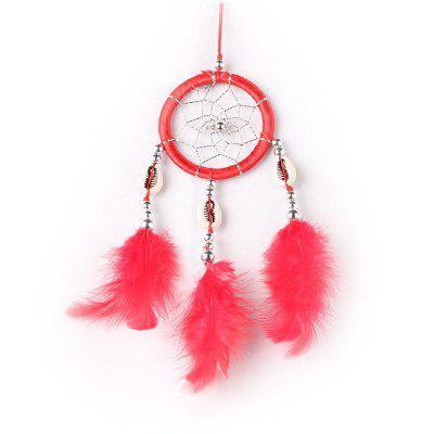 Dreamcatcher Monocyclic Teeth Feather Crafts Leisure Home Decoration