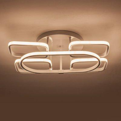 X8890 - 77W - WJ LED Stepless Dimming Modern Minimalist Ceiling Lamp AC 220VFlush Ceiling Lights<br>X8890 - 77W - WJ LED Stepless Dimming Modern Minimalist Ceiling Lamp AC 220V<br><br>Battery Included: Yes,Preloaded<br>Certifications: CE,RoHs,FCC,3C<br>Color Temperature or Wavelength: 2800-6500K<br>Decoration Material: Plastic,Metal<br>Dimmable: Yes<br>Features: Dinmable<br>Fixture Height ( CM ): 15CM<br>Fixture Length ( CM ): 57CM<br>Fixture Material: Metal<br>Fixture Width ( CM ): 37CM<br>Light Source Color: Warm White,Cold White,Stepless Dimming<br>Package Contents: 1 xCeiling Lamp, 1 x Remote Control, 2 x AAA Battery,1 x English User Manual, 4 x Screw, 4 x Colloidal Particle<br>Package size (L x W x H): 61.00 x 41.00 x 19.00 cm / 24.02 x 16.14 x 7.48 inches<br>Package weight: 3.3000 kg<br>Product size (L x W x H): 57.00 x 37.00 x 15.00 cm / 22.44 x 14.57 x 5.91 inches<br>Product weight: 2.9200 kg<br>Shade Material: Hardware<br>Stepless Dimming: Yes<br>Style: LED, Chic &amp; Modern, Simple Style<br>Suggested Room Size: 20 - 30?<br>Suggested Space Fit: Living Room,Dining Room,Office,Cafes,Indoors,Study Room<br>Type: Semi-Flushmount Lights<br>Voltage ( V ): AC220