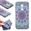 Relief Silicone Case for Xiaomi Redmi 5 Plus Mandala Pattern Soft TPU Protective Back Cover - BLUE
