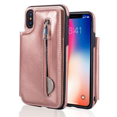 Leather Business Case for iPhone X Zipper Handbag Wallet Flip CoveriPhone Cases/Covers<br>Leather Business Case for iPhone X Zipper Handbag Wallet Flip Cover<br><br>Compatible for Apple: iPhone X<br>Features: With Credit Card Holder, Anti-knock, Wallet Case<br>Material: TPU, PU Leather<br>Package Contents: 1 x Phone Case<br>Package size (L x W x H): 15.00 x 7.00 x 2.00 cm / 5.91 x 2.76 x 0.79 inches<br>Package weight: 0.0660 kg<br>Style: Cool