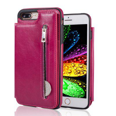 Leather Business Case for iPhone 7 Plus / 8 Plus Zipper Handbag Wallet Flip CoveriPhone Cases/Covers<br>Leather Business Case for iPhone 7 Plus / 8 Plus Zipper Handbag Wallet Flip Cover<br><br>Compatible for Apple: iPhone 7 Plus, iPhone 8 Plus<br>Features: Cases with Stand, With Credit Card Holder, Anti-knock, Wallet Case<br>Material: TPU, PU Leather<br>Package Contents: 1 x Phone Case<br>Package size (L x W x H): 17.00 x 8.00 x 2.00 cm / 6.69 x 3.15 x 0.79 inches<br>Package weight: 0.0800 kg<br>Style: Cool