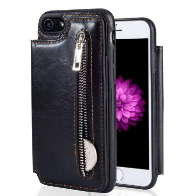 Leather Business Case for iPhone 7 / 8 Zipper Handbag Wallet Flip CoveriPhone Cases/Covers<br>Leather Business Case for iPhone 7 / 8 Zipper Handbag Wallet Flip Cover<br><br>Compatible for Apple: iPhone 7, iPhone 8<br>Features: Cases with Stand, With Credit Card Holder, Anti-knock, Wallet Case<br>Material: TPU, PU Leather<br>Package Contents: 1 x Phone Case<br>Package size (L x W x H): 15.00 x 7.00 x 2.00 cm / 5.91 x 2.76 x 0.79 inches<br>Package weight: 0.0600 kg<br>Style: Cool
