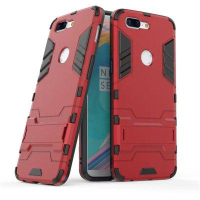 Cool Armor Rugged Kickstand Case for OnePlus 5T Hybrid Shockproof Phone Back Cover