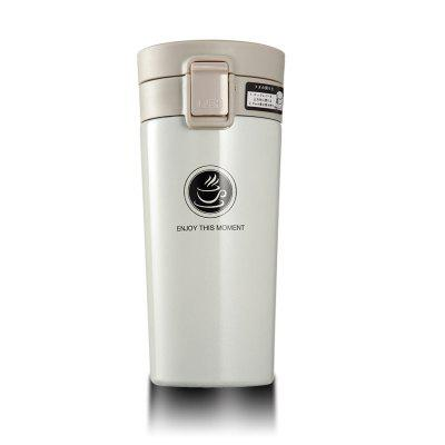 Vehicle-mounted Portable Vacuum Thermos Cup 380ML