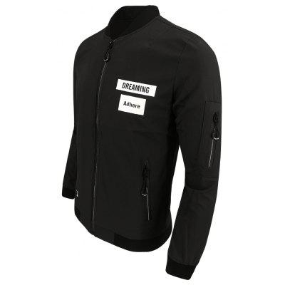 Men Spring Autumn Long-Sleeved Collared Floral Fashion Casual Style Casual Baseball JacketMens Jackets &amp; Coats<br>Men Spring Autumn Long-Sleeved Collared Floral Fashion Casual Style Casual Baseball Jacket<br><br>Clothes Type: Jackets<br>Collar: Stand Collar<br>Material: Polyester<br>Package Contents: 1XJacket<br>Season: Spring<br>Shirt Length: Regular<br>Sleeve Length: Long Sleeves<br>Style: Fashion<br>Weight: 0.3500kg