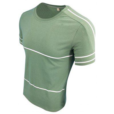 MenS Summer Wear Short - Sleeved Simple Sports Casual Fashion T-ShirtMens T-shirts<br>MenS Summer Wear Short - Sleeved Simple Sports Casual Fashion T-Shirt<br><br>Collar: Round Neck<br>Material: Cotton Blends<br>Package Contents: 1X T-shirt<br>Pattern Type: Print<br>Sleeve Length: Short Sleeves<br>Style: Casual<br>Weight: 0.2000kg