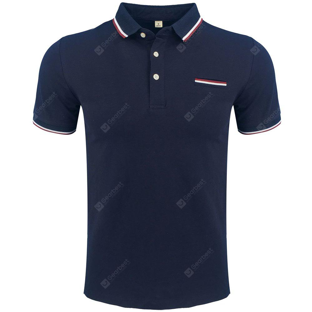 Men's Summer Short-Sleeved Polo Shirts