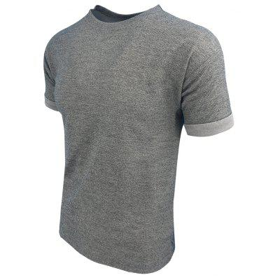 Mens Summer Short-Sleeved Pure Comfort Casual Fashion T-ShirtMens T-shirts<br>Mens Summer Short-Sleeved Pure Comfort Casual Fashion T-Shirt<br><br>Collar: Round Neck<br>Material: Cotton Blends<br>Package Contents: 1XT-shirt<br>Pattern Type: Solid<br>Sleeve Length: Short<br>Style: Casual<br>Weight: 0.2000kg