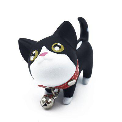 Cute Cartoon Kitten Key ChainKey Chains<br>Cute Cartoon Kitten Key Chain<br><br>Color: Black + White<br>Feature: Lovely, convenient<br>Material: Others, Metal<br>Package Contents: 1 x Kitten Key Chian<br>Package Quantity: 1<br>Package size (L x W x H): 12.00 x 10.00 x 20.00 cm / 4.72 x 3.94 x 7.87 inches<br>Package weight: 0.4000 kg<br>Product size (L x W x H): 5.50 x 4.00 x 6.50 cm / 2.17 x 1.57 x 2.56 inches