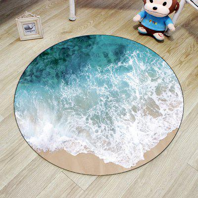 Living Room Floor Mat Creative Sea Wave Pattern Round Shaped MatCarpets &amp; Rugs<br>Living Room Floor Mat Creative Sea Wave Pattern Round Shaped Mat<br><br>Category: Mat,Carpet<br>For: All<br>Material: Polyester, Others, Polyester fibre<br>Occasion: Office, Dining Room, Bedroom, Bathroom, Kitchen Room, Living Room<br>Package Contents: 1 x carpet<br>Package size (L x W x H): 40.00 x 40.00 x 12.00 cm / 15.75 x 15.75 x 4.72 inches<br>Package weight: 1.9600 kg