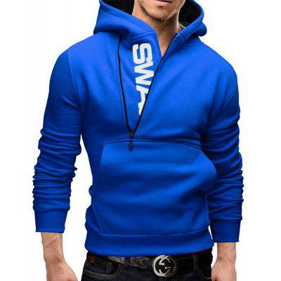 New Heel-Side Zipper Hit Color HoodieMens Hoodies &amp; Sweatshirts<br>New Heel-Side Zipper Hit Color Hoodie<br><br>Material: Cotton<br>Package Contents: 1 x hoodie<br>Shirt Length: Long<br>Sleeve Length: Full<br>Style: Casual<br>Weight: 0.5000kg