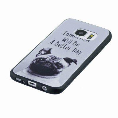 Marble Vein Soft Phone Back Cover Case For Samsung Galaxy S7 Anti-Knock Personality Case metal ring holder combo phone bag luxury shockproof case for samsung galaxy note 8