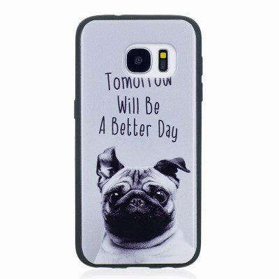 Marble Vein Soft Phone Back Cover Case For Samsung Galaxy S7 Edge Anti-Knock Personality Case