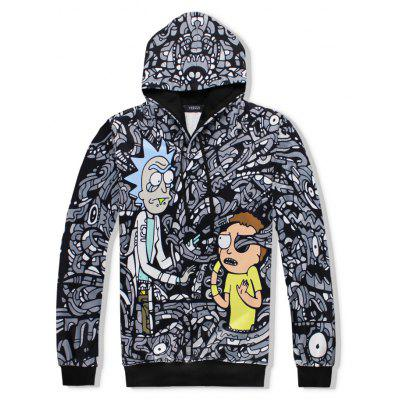 Men 3D Cartoon Black and White Print Hoodie Pant SuitSports Clothing<br>Men 3D Cartoon Black and White Print Hoodie Pant Suit<br><br>Clothes Type: Others<br>Materials: Cotton, Polyester<br>Package Content: 1xSuit<br>Package size (L x W x H): 1.00 x 1.00 x 1.00 cm / 0.39 x 0.39 x 0.39 inches<br>Package weight: 0.8000 kg<br>Pattern Type: Print<br>Size1: S,M,L,XL,2XL<br>Style: Fashion