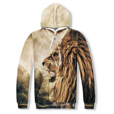 Men 3D Lion Hoodie and Pant SuitSports Clothing<br>Men 3D Lion Hoodie and Pant Suit<br><br>Clothes Type: Others<br>Materials: Cotton, Polyester<br>Package Content: 1xSuit<br>Package size (L x W x H): 1.00 x 1.00 x 1.00 cm / 0.39 x 0.39 x 0.39 inches<br>Package weight: 0.8000 kg<br>Pattern Type: Print<br>Size1: S,M,L,XL,2XL<br>Style: Fashion
