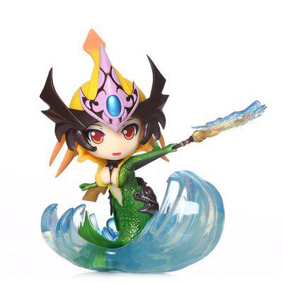 Hot Game Hero Role PVC Model Beautiful Girl Figurine Toy