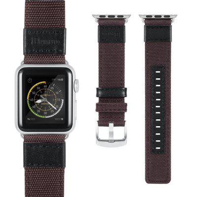 Benuo for Apple Watch Nylon Band 42mmApple Watch Bands<br>Benuo for Apple Watch Nylon Band 42mm<br><br>Material: Genuine Leather<br>Package Contents: 1 x watch band<br>Package size (L x W x H): 20.00 x 7.00 x 20.00 cm / 7.87 x 2.76 x 7.87 inches<br>Package weight: 0.0560 kg<br>Type: Smart watch / wristband band
