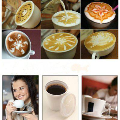16Pcs/set Creative Plastic  Barista Fancy Garland MoldCake Molds<br>16Pcs/set Creative Plastic  Barista Fancy Garland Mold<br><br>Material: Plastic<br>Package Contents: 16 x Coffee Models<br>Package size (L x W x H): 13.50 x 9.00 x 0.50 cm / 5.31 x 3.54 x 0.2 inches<br>Package weight: 0.0350 kg<br>Product size (L x W x H): 13.00 x 8.50 x 0.10 cm / 5.12 x 3.35 x 0.04 inches<br>Product weight: 0.0300 kg<br>Type: Bakeware