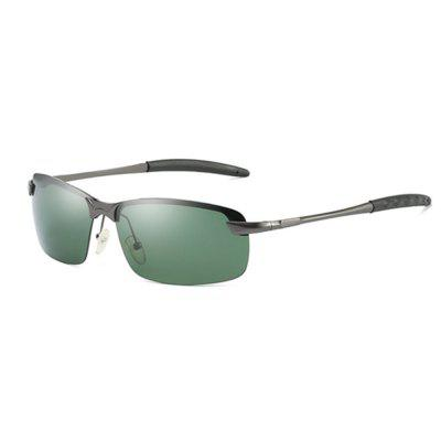 Óculos de sol de alumínio polarizado unisex Vintage Sun Glasses For Men