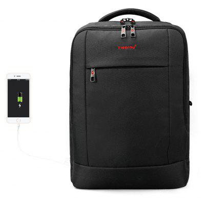 Buy Tigernu Brand USB Charging Waterproof Anti-theft Laptop Backpack Business Backpack for Man T-B3331 BLACK GREY for $56.18 in GearBest store
