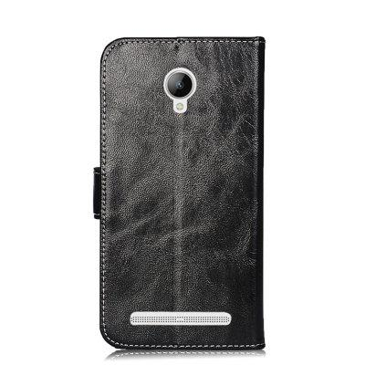 Case for Lenovo Vibe C2 Powe/ K10A40 Leather Wallet Cover Flip Magnetic Protective Phone Bags Stand Retro Fashion New смартфон lenovo vibe c 2 power k10a40 black