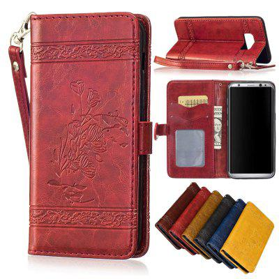 for Samsung Galaxy S8 Case Cover Embossed Oil Wax Lines Phone Case Cover PU Leather Wallet Style CaseSamsung S Series<br>for Samsung Galaxy S8 Case Cover Embossed Oil Wax Lines Phone Case Cover PU Leather Wallet Style Case<br><br>Color: Black,Red,Blue,Brown,Gold,Wine red<br>Compatible with: Samsung Galaxy S8<br>Features: Dirt-resistant, Anti-knock, With Lanyard, With Credit Card Holder, Cases with Stand, Full Body Cases<br>For: Samsung Mobile Phone<br>Material: PU Leather, TPU<br>Package Contents: 1 x Phone Case<br>Package size (L x W x H): 15.00 x 7.50 x 1.50 cm / 5.91 x 2.95 x 0.59 inches<br>Package weight: 0.0660 kg<br>Style: Fashion, Special Design, Cool, Funny, Retro, Vintage, Novelty