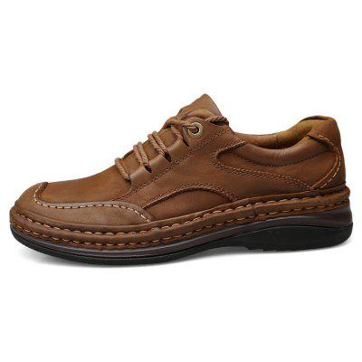 Season First Layer of Rubber Casual Leather ShoesMen's Oxford<br>Season First Layer of Rubber Casual Leather Shoes<br><br>Available Size: 37 38 39 40 41 42 43 44 45<br>Closure Type: Lace-Up<br>Embellishment: Fur<br>Gender: For Men<br>Outsole Material: Rubber<br>Package Contents: 1xshoes(pair)<br>Pattern Type: Solid<br>Season: Summer, Winter, Spring/Fall<br>Toe Shape: Round Toe<br>Toe Style: Closed Toe<br>Upper Material: Full Grain Leather<br>Weight: 1.6896kg