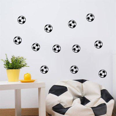 Football Wall Sticker For Kids Room DIY DecorationWall Stickers<br>Football Wall Sticker For Kids Room DIY Decoration<br><br>Art Style: Others<br>Effect Size (L x W): 57x22cm<br>Function: Decorative Wall Sticker<br>Layout Size (L x W): 57x22cm<br>Material: Vinyl(PVC)<br>Package Contents: 1 x Wall Sticker<br>Package size (L x W x H): 22.00 x 4.00 x 4.00 cm / 8.66 x 1.57 x 1.57 inches<br>Package weight: 0.1000 kg<br>Product Type: Others<br>Product weight: 0.0500 kg<br>Quantity: 1<br>Subjects: Cartoon<br>Suitable Space: Kids Room,Kids Room<br>Type: Plane Wall Sticker