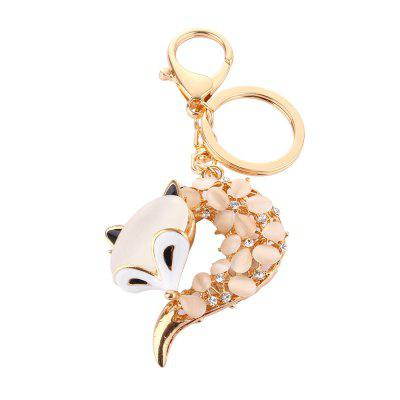 Fox Head Inlay Pearl Rhinestone Key ChainKey Chains<br>Fox Head Inlay Pearl Rhinestone Key Chain<br><br>Design Style: Fashion<br>Gender: Unisex<br>Materials: Crystal, Metal<br>Package Contents: 1 x Key Chain<br>Package size: 8.00 x 5.50 x 3.00 cm / 3.15 x 2.17 x 1.18 inches<br>Package weight: 0.0520 kg<br>Product size: 7.50 x 5.00 x 3.00 cm / 2.95 x 1.97 x 1.18 inches<br>Product weight: 0.0500 kg<br>Theme: Animals