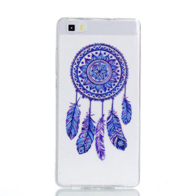 for Huawei P8 Lite Blue Bell Soft Clear TPU Phone Casing Mobile Smartphone Cover Shell Case huawei p8 lite