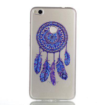 for Huawei P8 Lite 2017 Blue Bell Soft Clear TPU Phone Casing Mobile Smartphone Cover Shell Case